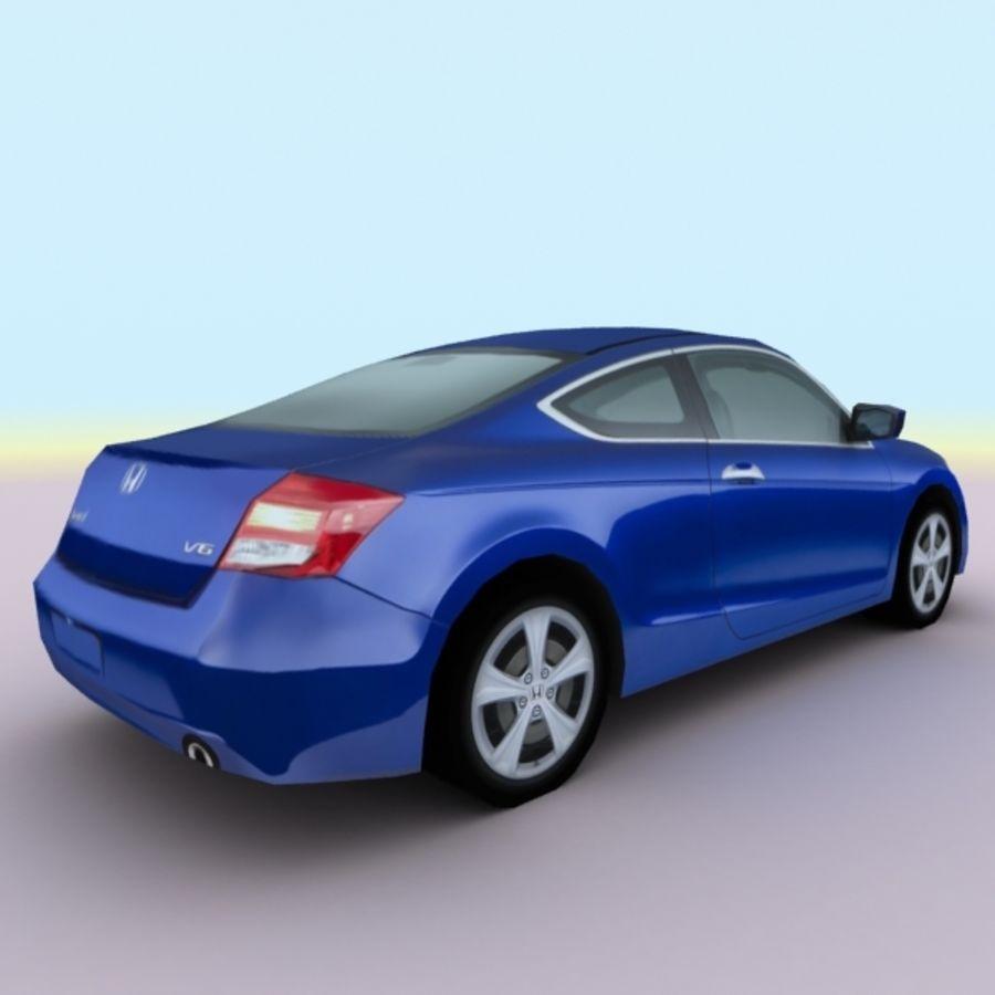 2011 년 혼다 어코드 쿠페 royalty-free 3d model - Preview no. 8