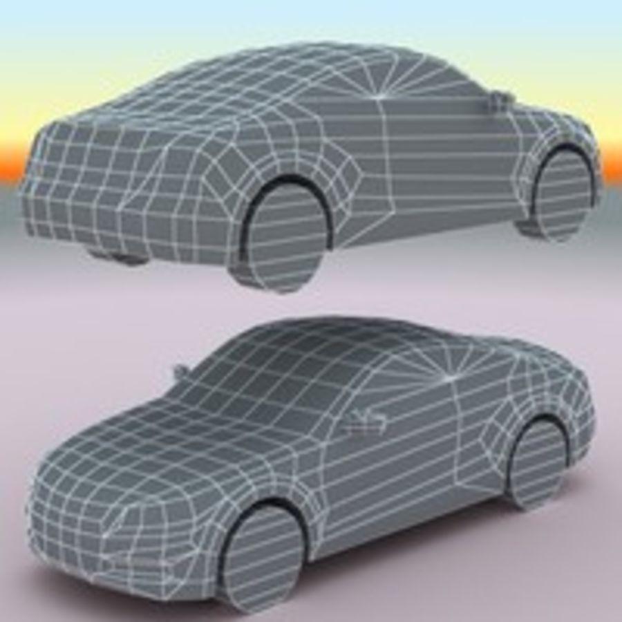 2011 년 혼다 어코드 쿠페 royalty-free 3d model - Preview no. 9