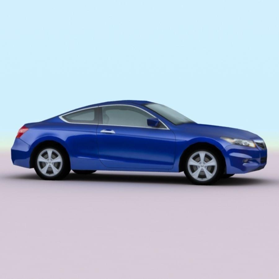 2011 년 혼다 어코드 쿠페 royalty-free 3d model - Preview no. 5