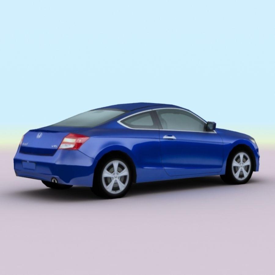 2011 년 혼다 어코드 쿠페 royalty-free 3d model - Preview no. 2