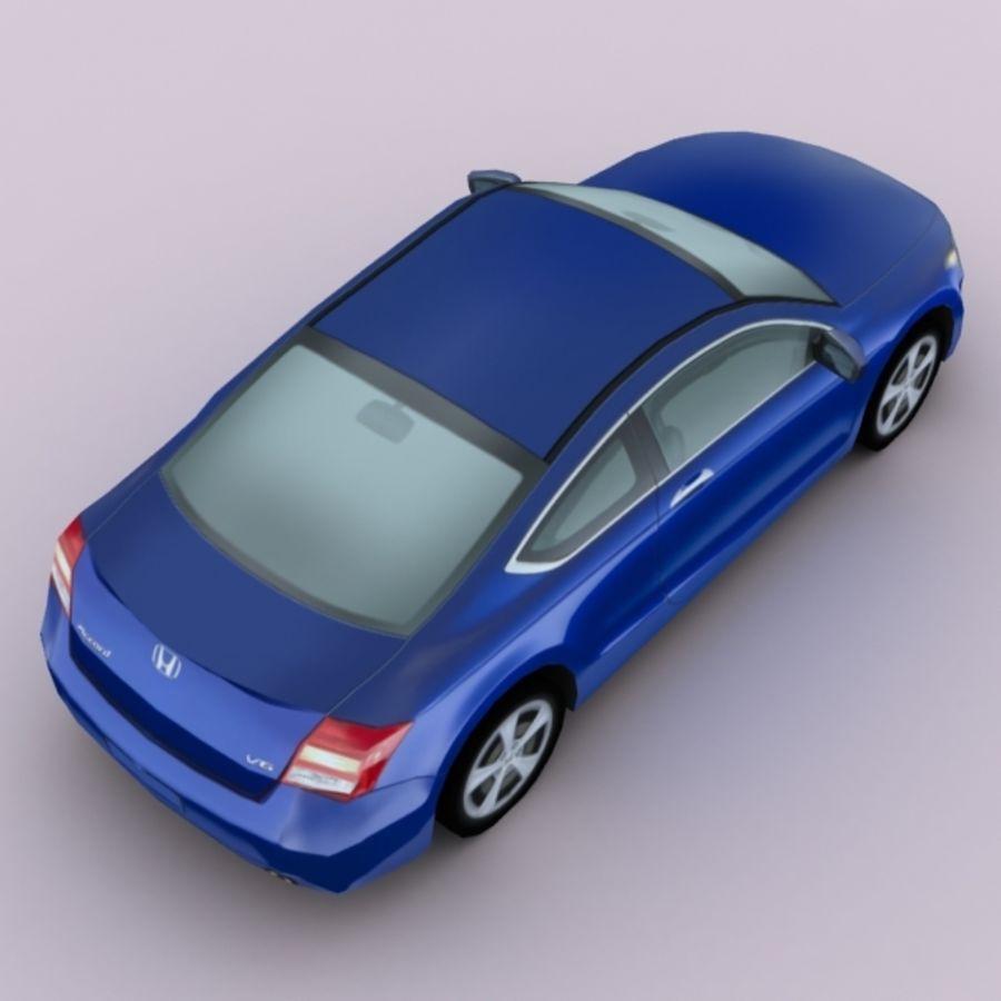 2011 년 혼다 어코드 쿠페 royalty-free 3d model - Preview no. 3