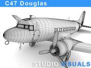 Douglas C-47 Skytrain 3d model