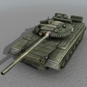 T80 Russische tank 3d model