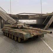 T80 이라크 탱크 3d model
