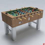 Fussball table04 3d model