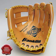 野球グローブ 3d model
