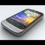 HTC Wildfire 3d model