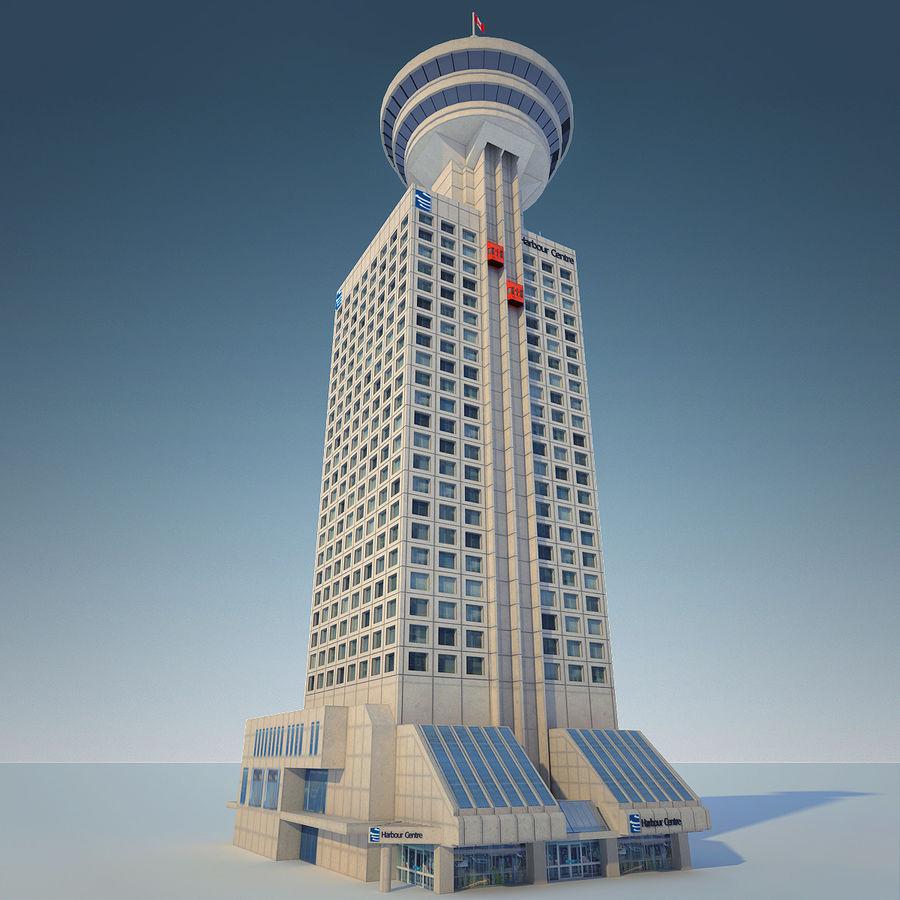 Vancouver landmark lookout tower building 3d model 19 for Building a lookout tower