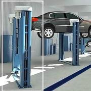 araba asansörü 3d model