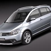 Volkswagen CrossGolf 3d model
