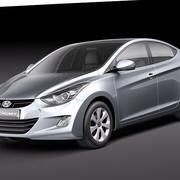 Hyundai Avante 2011 3d model
