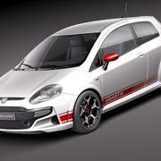 菲亚特Punto Abarth 3d model