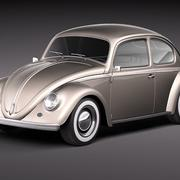 Volkswagen Beetle 1950 3d model