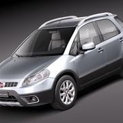 Fiat Sedici 2011 3d model