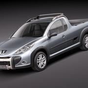 Peugeot Hoggar 2011 modelo 3d