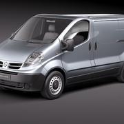 Nissan Primastar 2010-2012 3d model