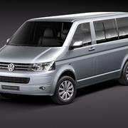 Volkswagen Multivan Caravelle T5 FL 3d model