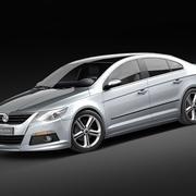 Volkswagen Passat CC R-line 3d model