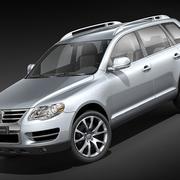 Volkswagen Touareg midpoly 3d model