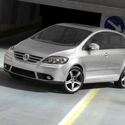 Volkswagen Golf Plus V 3d model