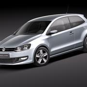 Volkswagen Polo 3door 3d model