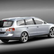 Volkswagen Passat Variant-Wagon 3d model