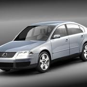 Volkswagen Passat 2001 3d model
