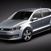 Volkswagen Polo 5door 3d model