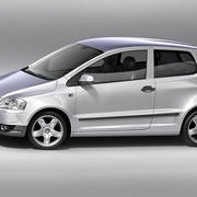 Volkswagen Fox 3d model