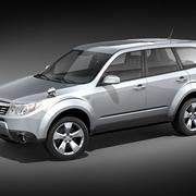 Subaru Forester 2009 3d model