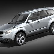 Subaru forester midpoly 3d model