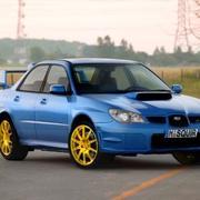 Subaru Impreza STi 2006-2009 3d model