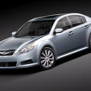 Subaru Legacy 2010 3d model