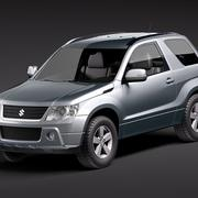 suzuki grand vitara 3door 2009 3d model