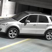 Suzuki SX4 3d model