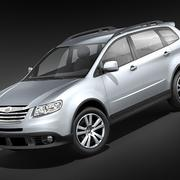 Subaru Tribeca midpoly 3d model