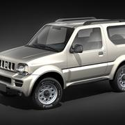Suzuki Jimny Jeep 3d model