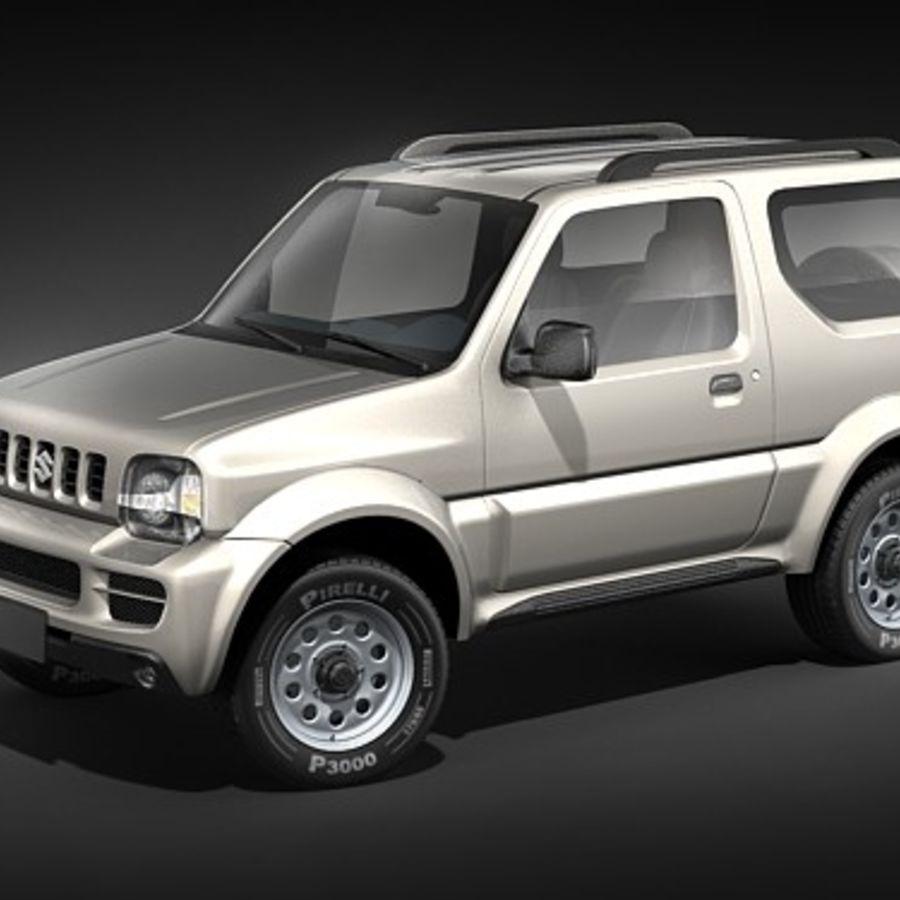 suzuki jimny jeep 3d model 129 max 3ds free3d. Black Bedroom Furniture Sets. Home Design Ideas
