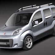 Fiat Fiorino Qubo 3d model