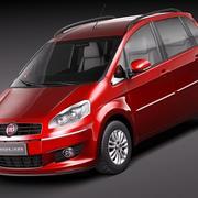 Fiat Idea 2011 3d model