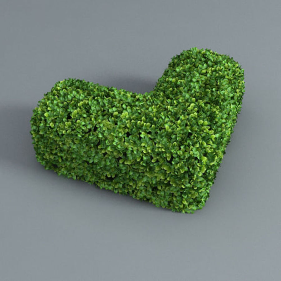 Hedge cubes royalty-free 3d model - Preview no. 3