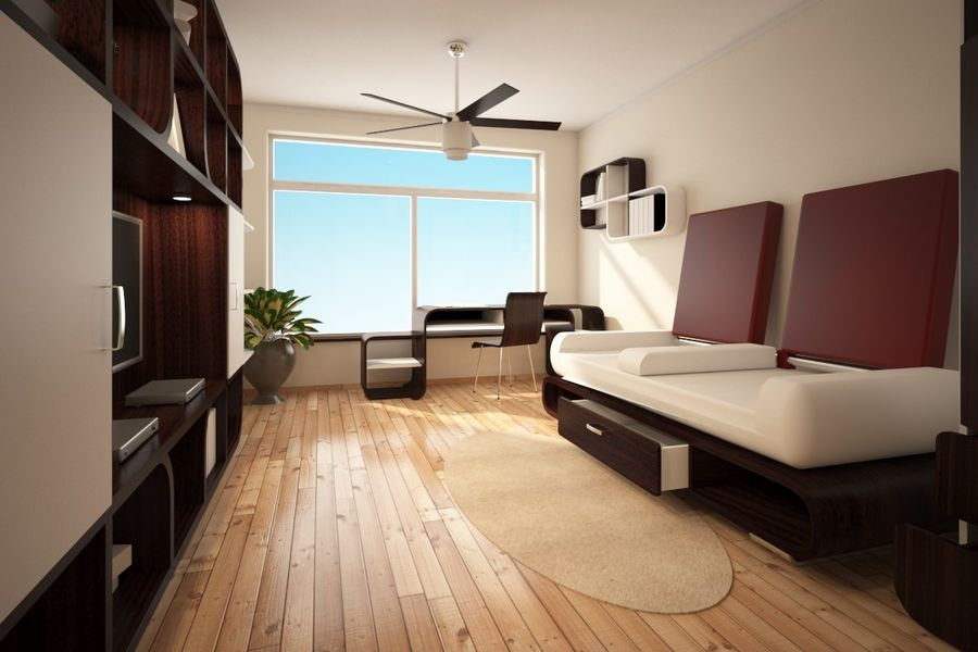 Interior royalty-free 3d model - Preview no. 1
