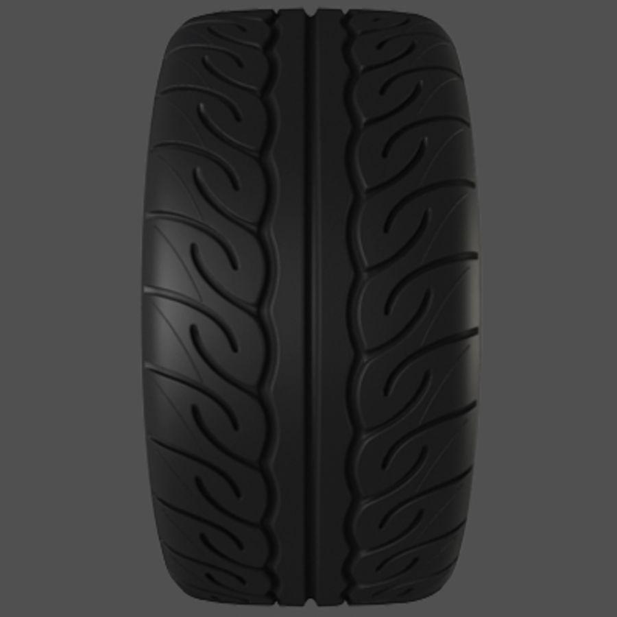 Колесо VMR V713 royalty-free 3d model - Preview no. 6