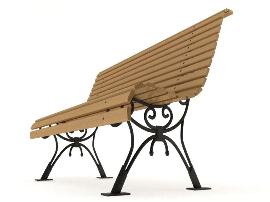 Fabulous Classic Park Bench Vray Materials 3D Model 35 Max Fbx Evergreenethics Interior Chair Design Evergreenethicsorg