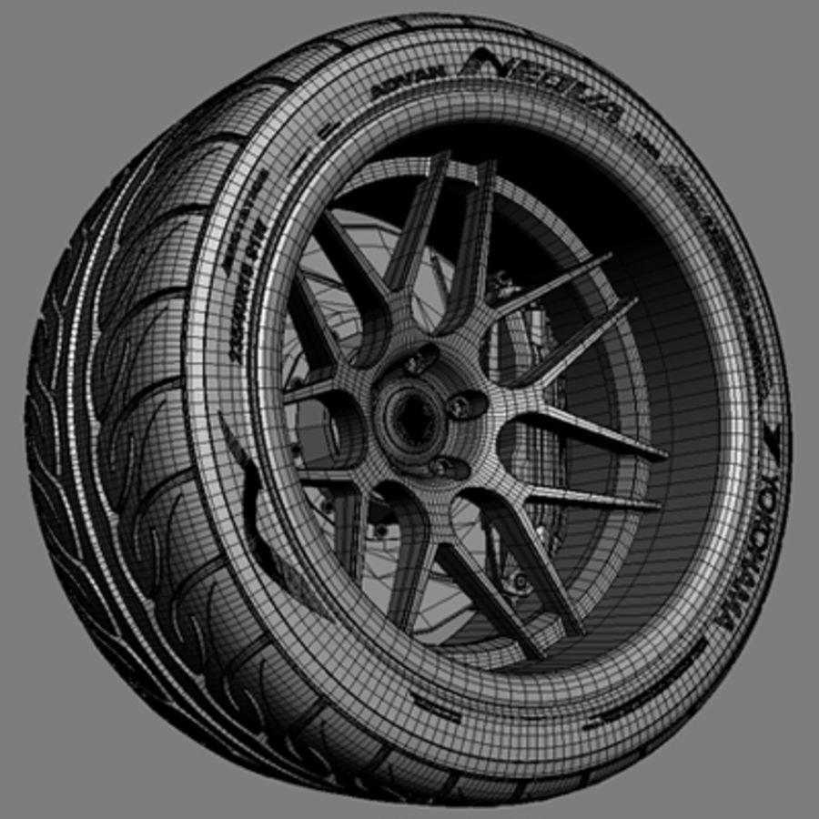 Vorsteiner V308 Wheel royalty-free 3d model - Preview no. 5