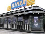 Classic Diner 3d model