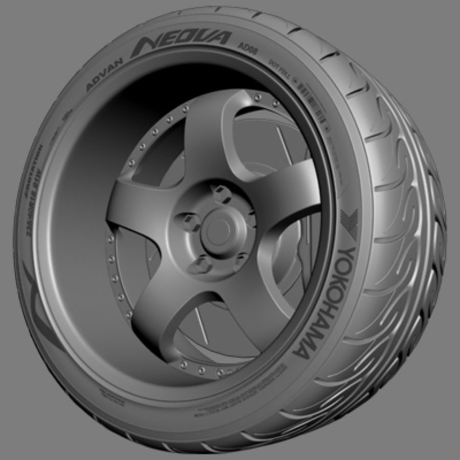Garson Deep Racing royalty-free 3d model - Preview no. 5