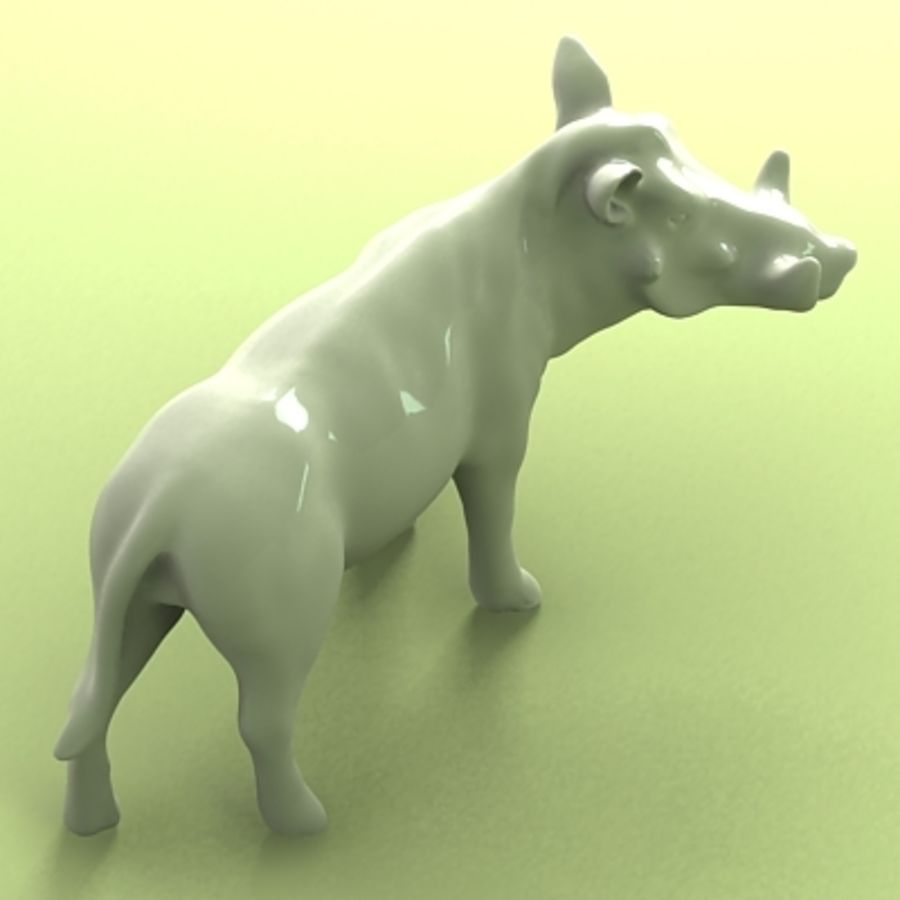 wrattenzwijn royalty-free 3d model - Preview no. 4