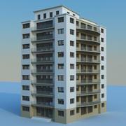 Bostadsbyggnad 05 3d model