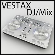 3D 모델 VESTAX 스핀 DJ 믹서 Low Poly! 3d model